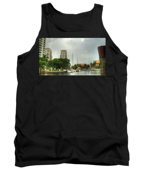 downtown Ft Lauderdale waterfront Tank Top