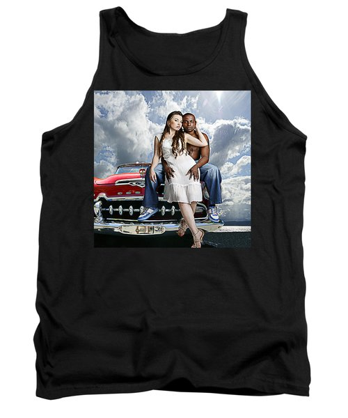 Tank Top featuring the photograph Downtown by Jeff Burgess