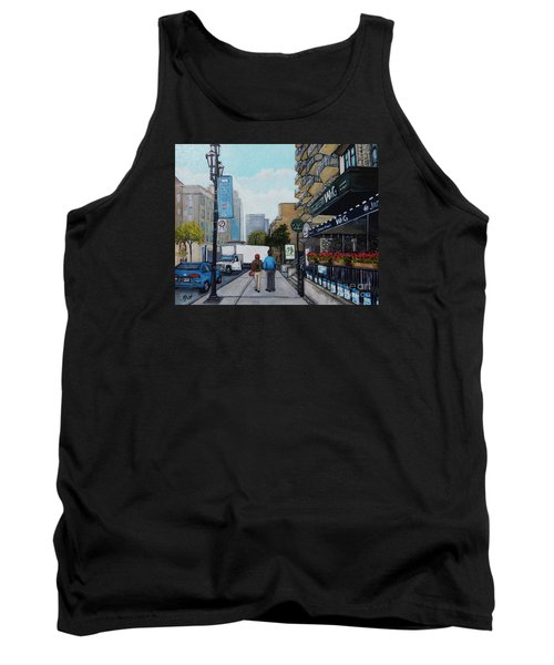 Downtown Montreal Tank Top by Reb Frost