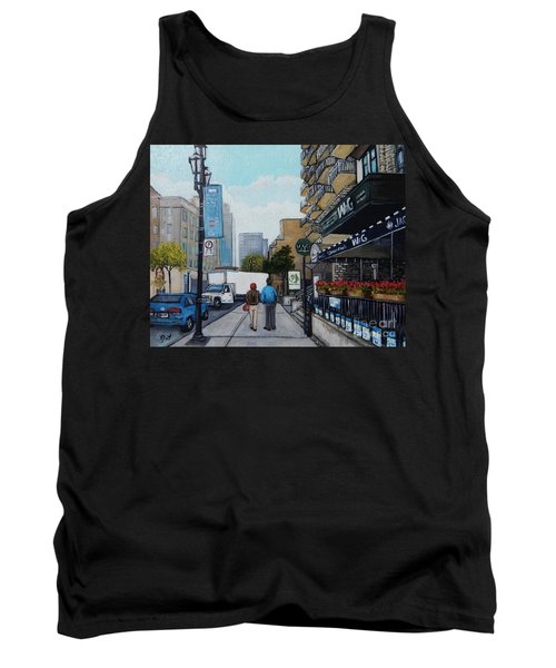 Downtown Montreal Tank Top
