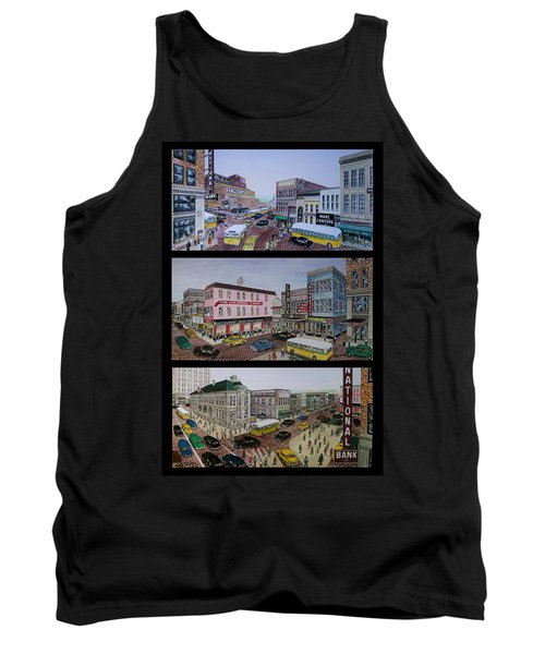 Downtown Portsmouth 1948 Tank Top by Frank Hunter