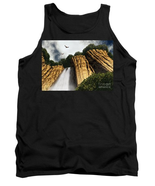 Dragons Den Canyon Tank Top by Richard Rizzo