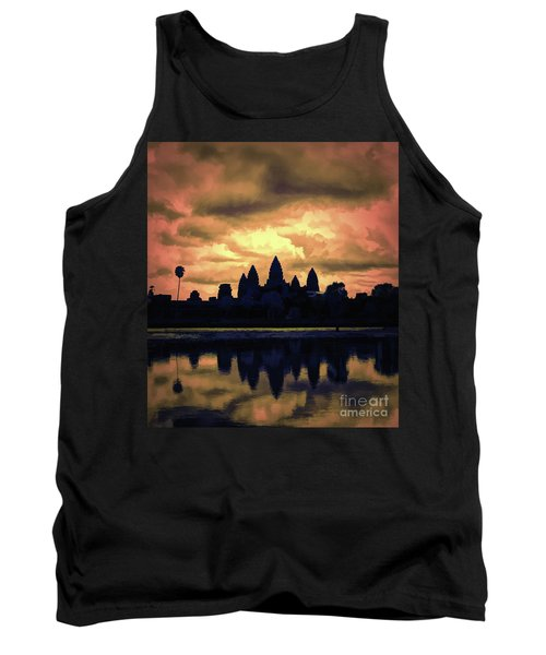 Dramatic Angkor Wat  Tank Top