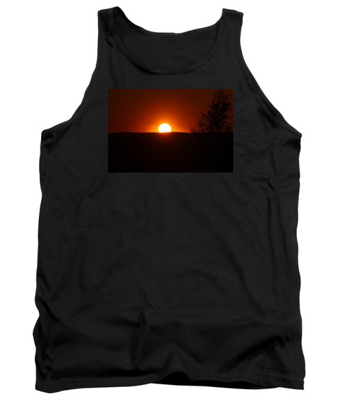 Dramatic Sunset View From Mount Tom Tank Top