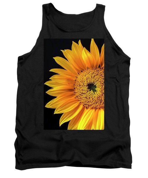 Dramatic Yellow Sunflower Tank Top