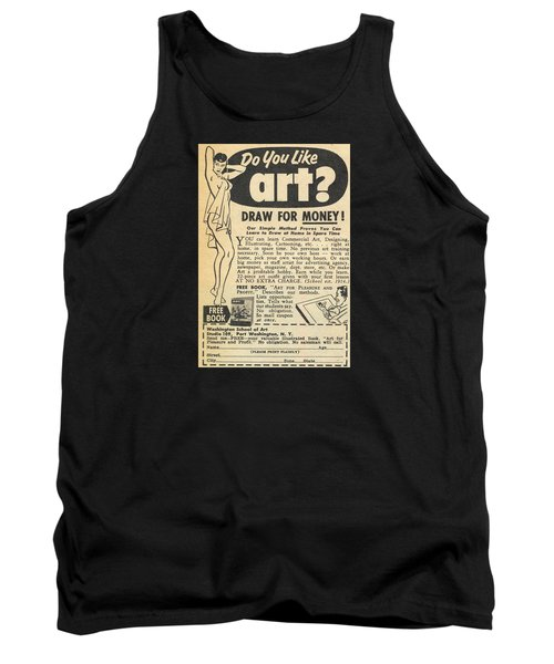 Draw For Money Tank Top