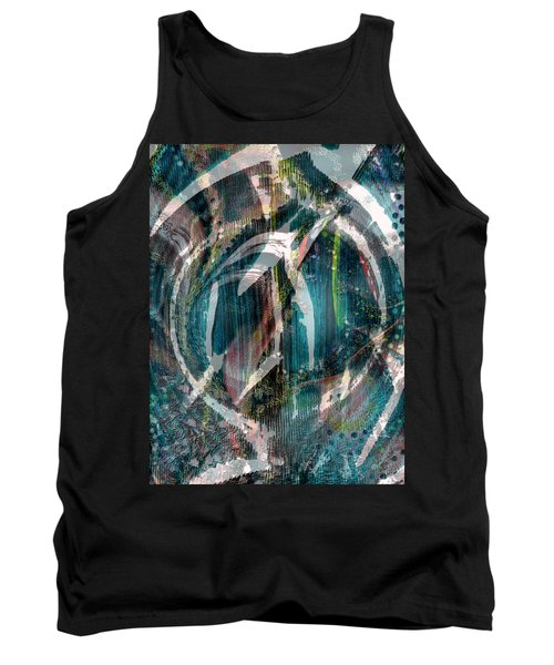 Dimension In Space Tank Top by Yul Olaivar