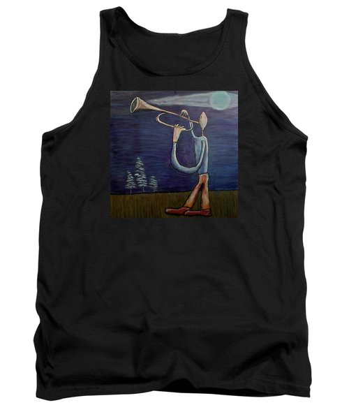 Tank Top featuring the painting Dreamers 13-002 by Mario Perron