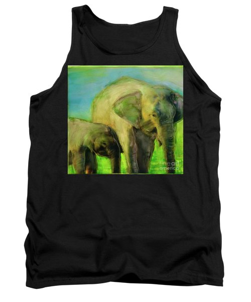 Dreaming Of Elephants Tank Top