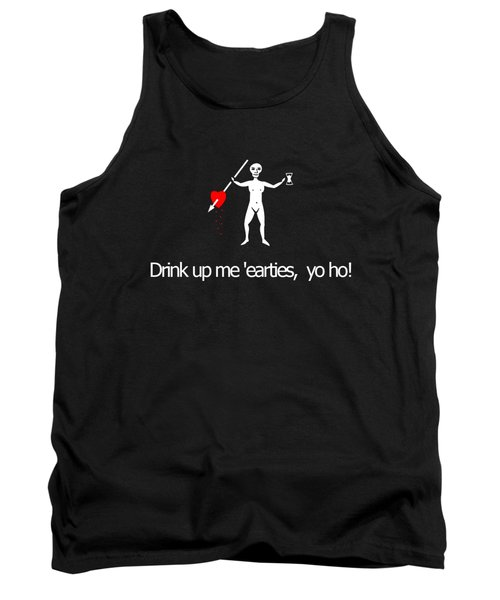 Drink Up Pirate Tee Tank Top