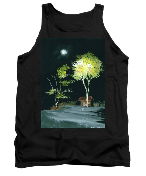 Drive Inn Tank Top by Anil Nene