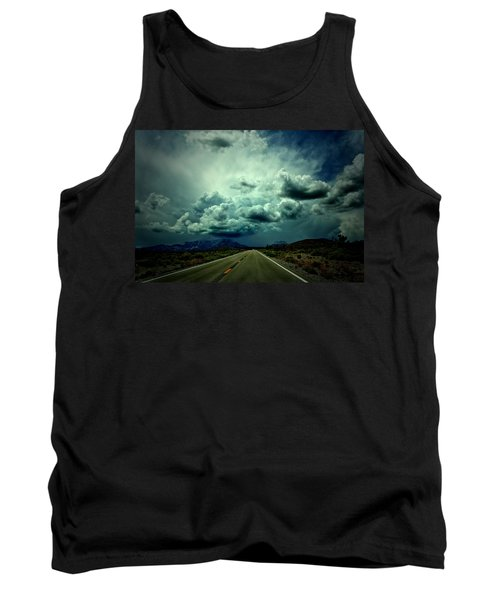 Drive On Tank Top by Mark Ross