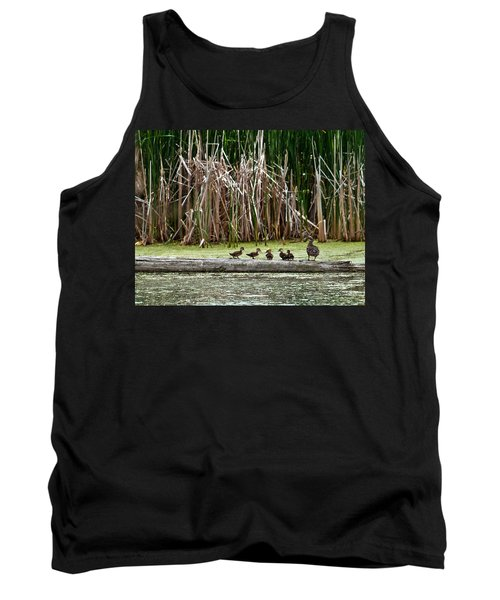 Ducks All In A Row Tank Top