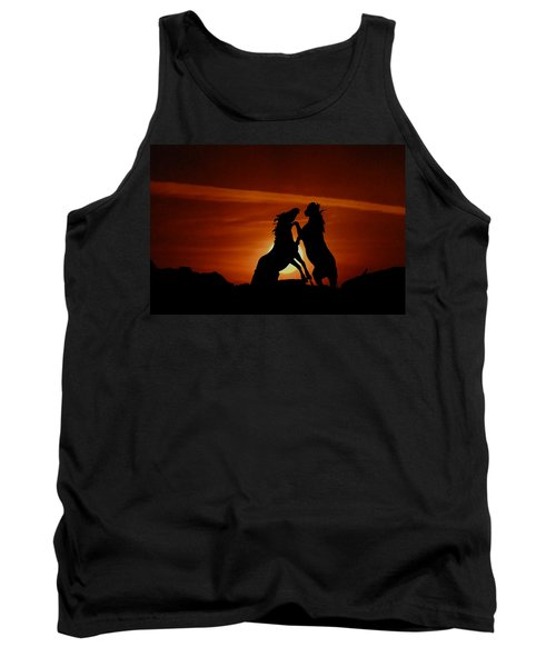 Duel At Sundown Tank Top