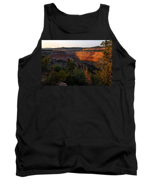 Dusk At Colorado National Monument Tank Top
