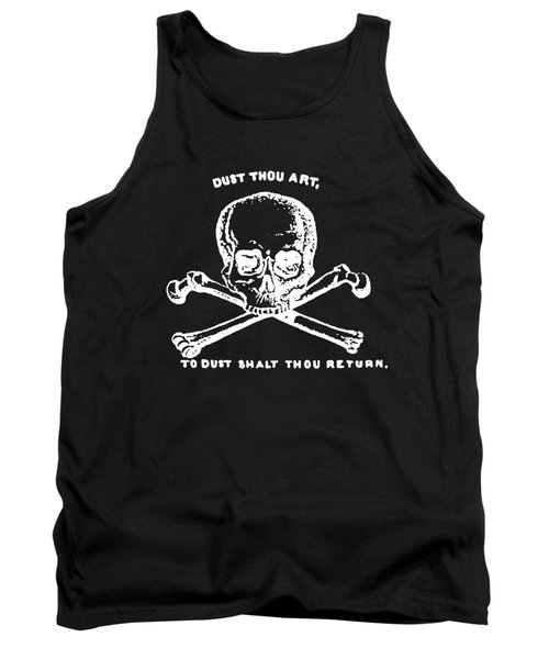 Dust To Dust Tee White Ink Tank Top