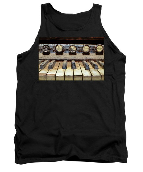 Dusty Old Keyboard Tank Top