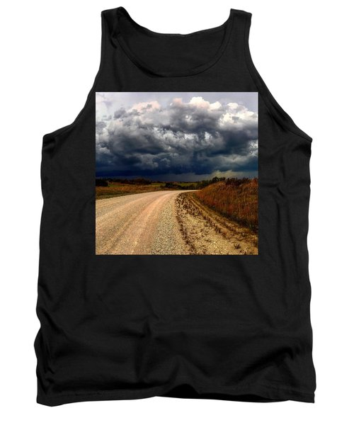 Dying Tornadic Supercell Tank Top