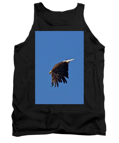 Tank Top featuring the photograph Eagle Dive by Linda Unger
