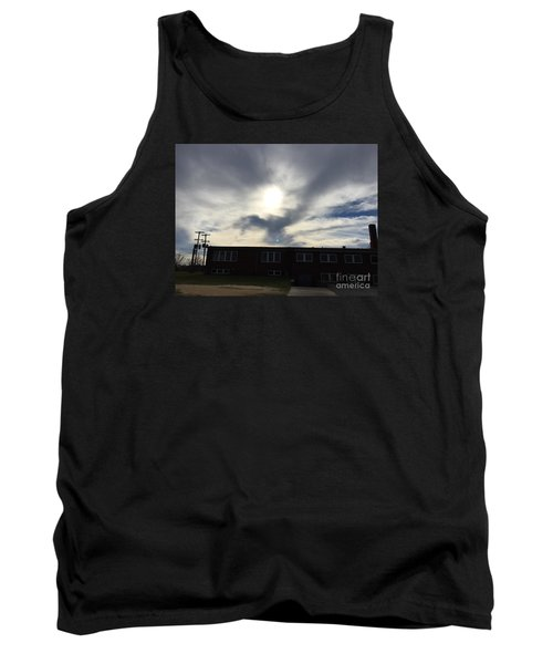 Eagle Cloud In The Carolina Sky Tank Top