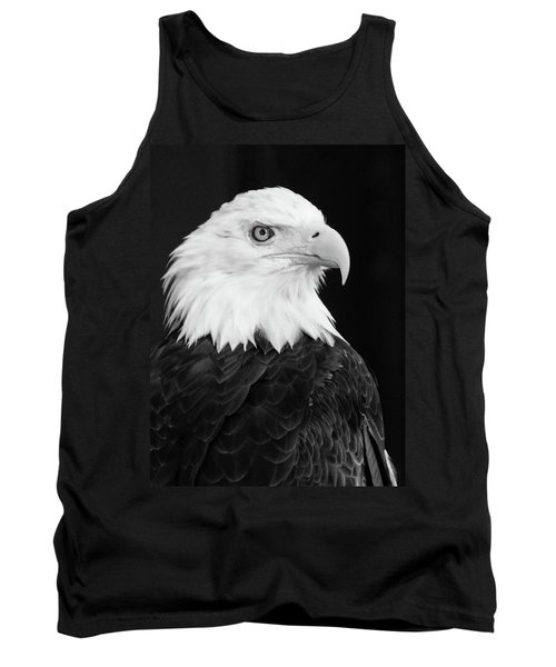 Tank Top featuring the photograph Eagle Portrait Special  by Coby Cooper