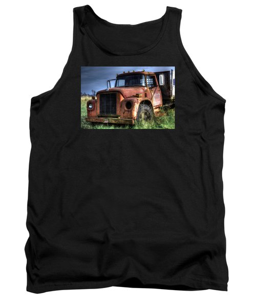 Tank Top featuring the photograph Earl Latsha Lumber Company Version 3 by Shelley Neff