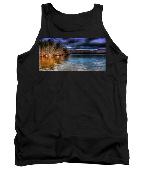 Tank Top featuring the photograph Early May On Limekiln Lake by David Patterson