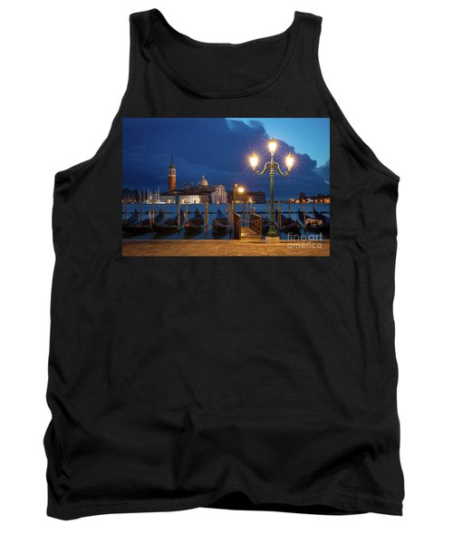 Tank Top featuring the photograph Early Morning In Venice by Brian Jannsen