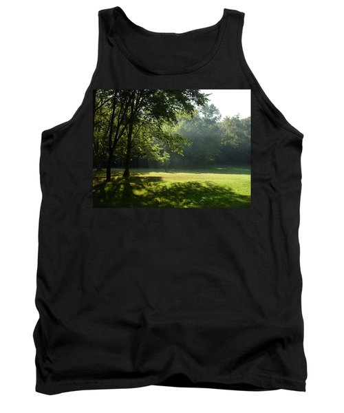 Early Morning Meadow Tank Top by Cynthia Lassiter