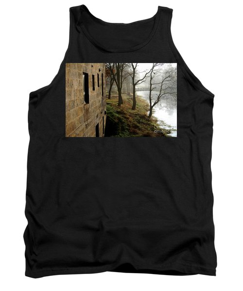 Early Morning Mist On The I  M Canal Tank Top