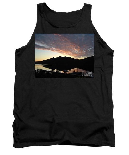 Early Morning Red Sky Tank Top by Barbara Griffin