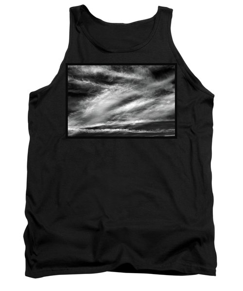 Tank Top featuring the photograph Early Morning Sky. by Terence Davis