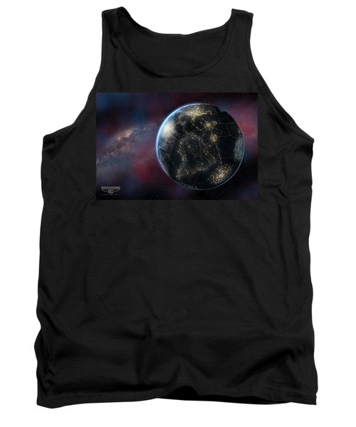 Earth One Day Tank Top by David Collins
