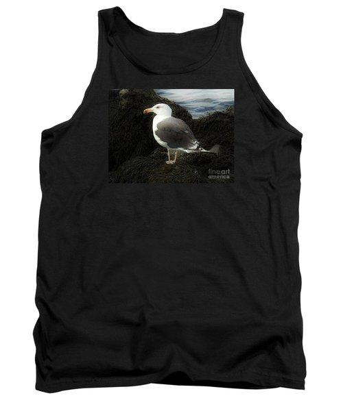 East Coast Herring Seagull Tank Top by Marcia Lee Jones