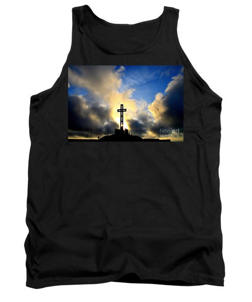 Easter Cross Tank Top