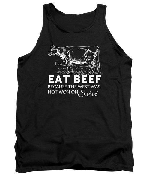 Eat Beef Tank Top