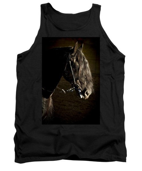 Tank Top featuring the photograph Ebony Beauty D6951 by Wes and Dotty Weber