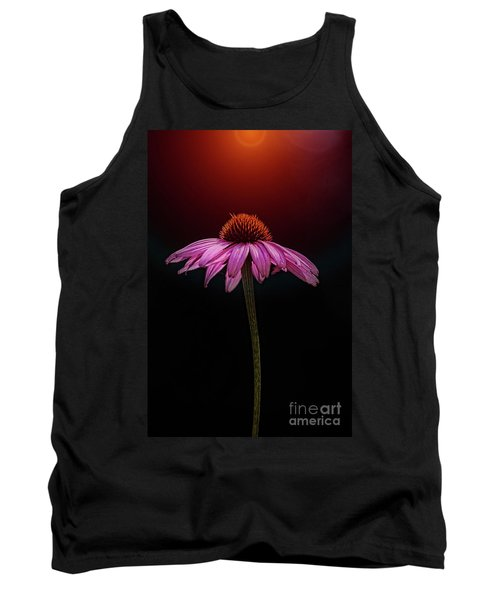 Echinacea And Sun Tank Top