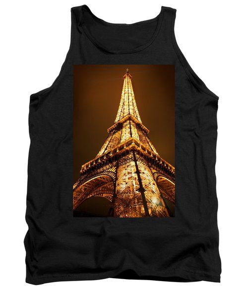 Tank Top featuring the photograph Eiffel by Skip Hunt