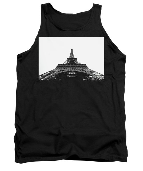 Tank Top featuring the photograph Eiffel Tower Perspective  by MGL Meiklejohn Graphics Licensing