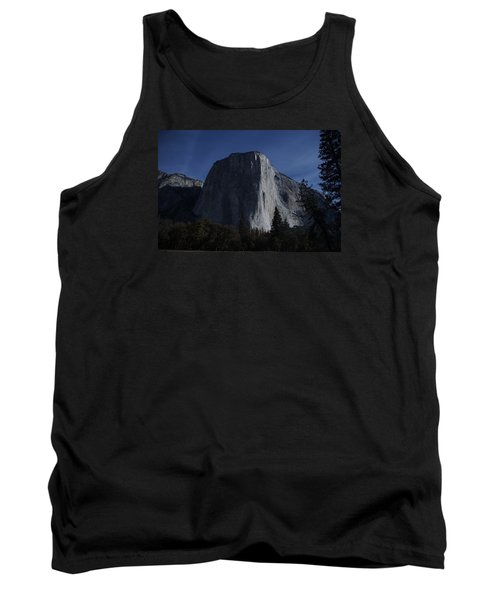 El Capitan In Moonlight Tank Top by Michael Courtney
