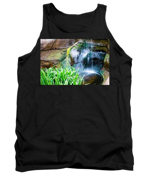 El Paso Zoo Waterfall Long Exposure Tank Top