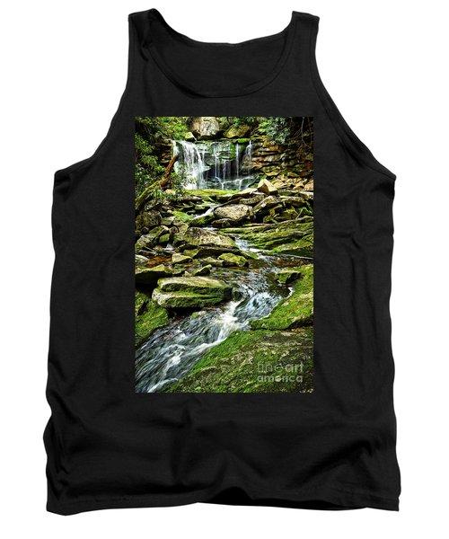 Elakala Falls At Blackwater Falls State Park Tank Top