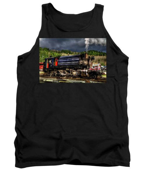 Elbe Steam Engine 17 Hdr 2  Tank Top