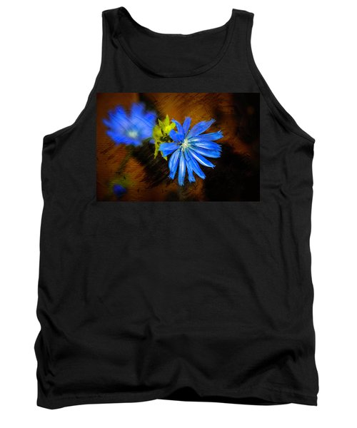 Electric Blue Tank Top