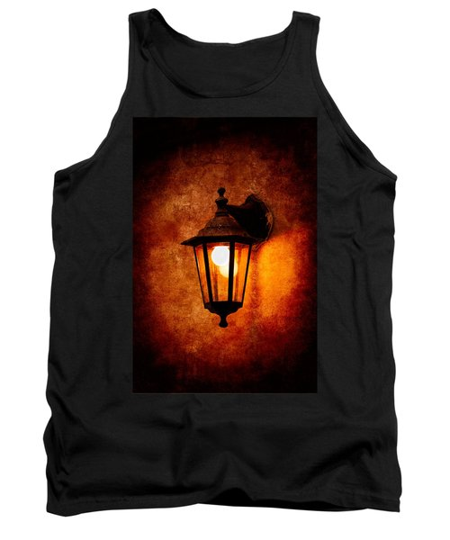 Tank Top featuring the photograph Electrical Light by Alexander Senin