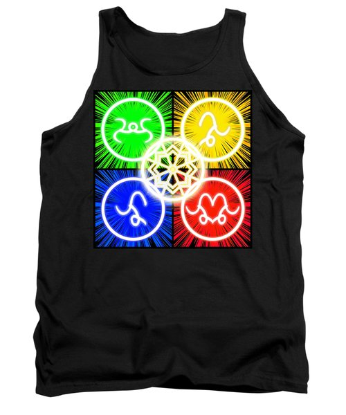 Tank Top featuring the digital art Elements Of Consciousness by Shawn Dall