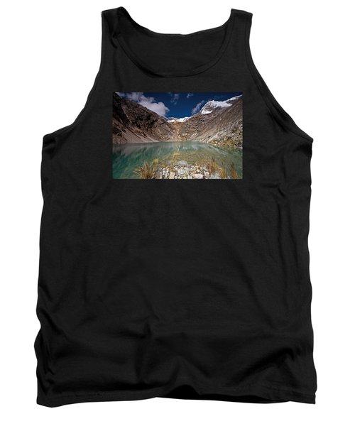 Emerald Mountain Lake Tank Top