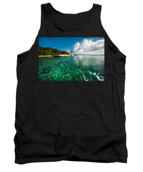 Emerald Purity. Maldives Tank Top