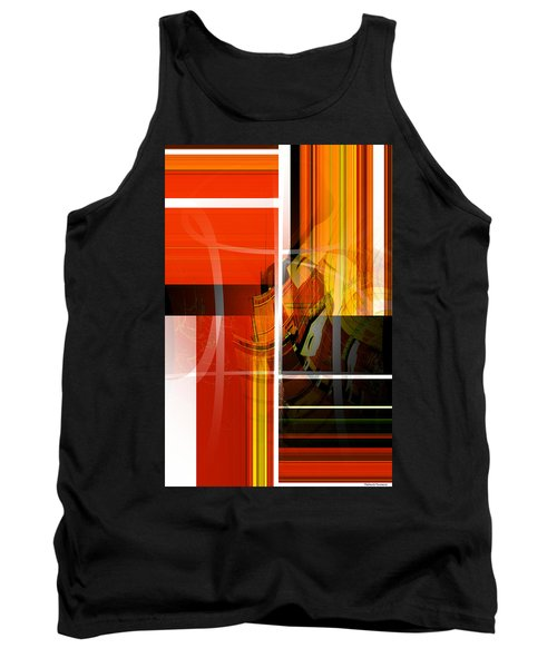 Emerging Concrete Life Tank Top by Thibault Toussaint